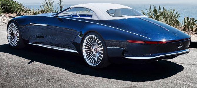 Самый роскошный электромобиль Mercedes-Maybach 6 Кабриолет — авто новинки 2017