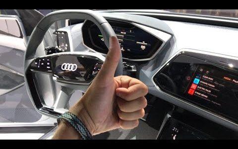 AUDI E-TRON Sportback Обзор — Электрический Автомобиль от АУДИ